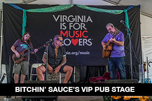 Bitchin' Sauce VIP Pub Stage